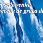 JESUS: A Água da VIDA!