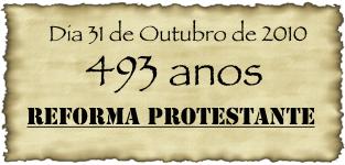Por que não comemoramos a reforma protestante???