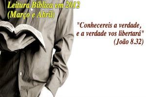 leitura biblia mar abr 2012