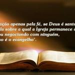 A Insanidade de Lutero, a justificação pela fé e a Santidade de Deus