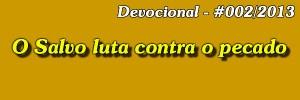 devocional 002 2013 salvo luta